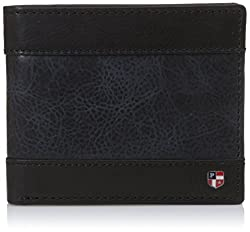 US Polo Association Black/Navy Mens Wallet (USAW0561)