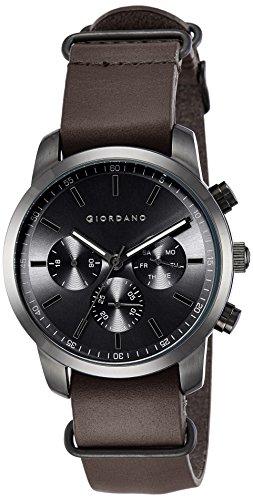 Giordano Analog Black Dial Men's Watch-1772-05 image
