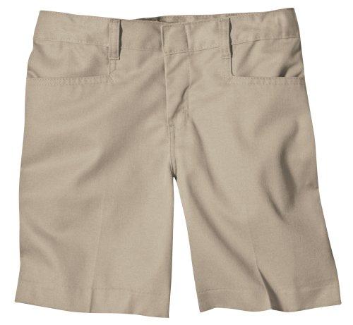 Dickie Classic Shorts (Dickies - - KR511 Girl 's Classic Short, 20, Khaki)