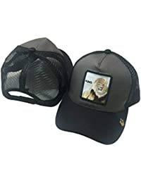 chenpaif Unisex Animales Bordado Parche Gorra de béisbol Hip Hop Snapback  Malla Trucker Hat 2  07aa9ea2b6f