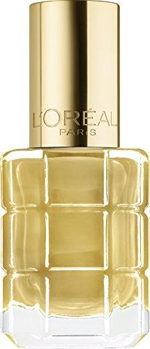 L'Oréal Paris Make-Up Designer Color Riche Vernis à L'huile 660 L'Or Oro esmalte de uñas - Esmaltes de uñas (Oro, Mujeres, LOr, ccab5a, 1 pieza(s), 30 mm)
