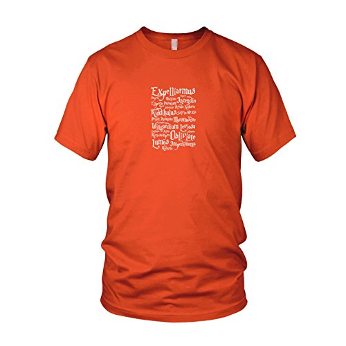 Expelliarmus - Herren T-Shirt, Größe: XXL, Farbe: orange
