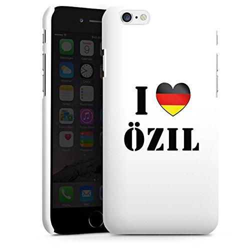 Apple iPhone X Silikon Hülle Case Schutzhülle Mesut Özil Fußball Deutschland Premium Case matt