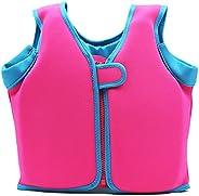 BenCreative Children Buoyancy Swim Vest, Infant Kids Toddler Floatation Swim Jacket for Swimming Trainer