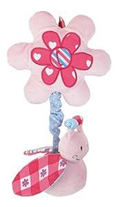 bébé-jou - Peluche vibrador con Pinza, Color Rosa (307444)