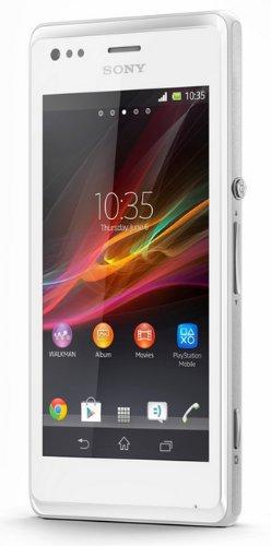 Sony 1275-5813 - Smartphone libre Android  pantalla de 4   c  mara 5 Mp  4 GB  1 GHz  1 GB de RAM  Dual SIM   blanco  importado