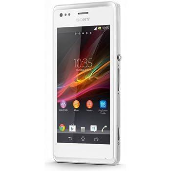 Sony Xperia M Dual-Sim Smartphone (10,2 cm (4 Zoll) Touchscreen, Qualcomm, 1GHz Dual-Core, 5 Megapixel Kamera, 1GB RAM, Android 4.1) weiß