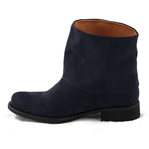 NAE Mira Blau - Damen Vegan Stiefel - 3