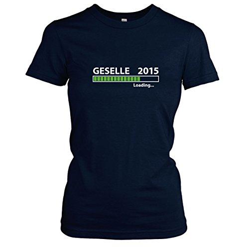 TEXLAB - Geselle 2016 Loading - Damen T-Shirt Dunkelblau. Original ...