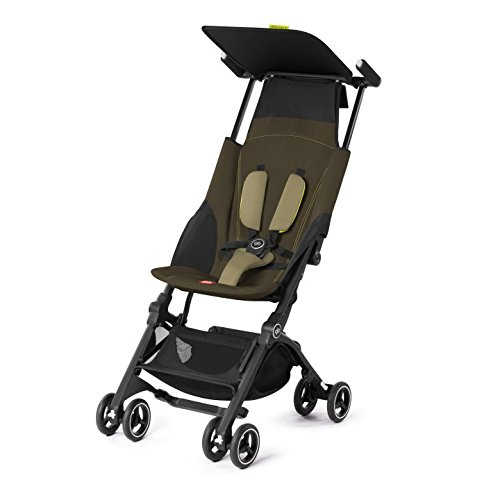 GB Gold Pockit+ Pushchair, Lizard Khaki  Columbus Trading Partners GmbH & Co. KG (formerly Cybex)
