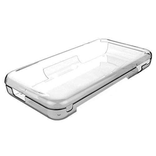 TUTUO Hülle für New Nintendo 2DS XL TPU Schutzhülle Cover Klar Case Shell Kompatibel mit Nintendo 2DS XL 2017 (Transparent) Klar Shell