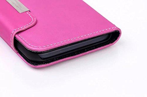 iPhone Case Cover matte oberfläche lederetui für magnetische seil style fall schwer schwarze kunststoff covrer für das iphone 6 65 ( Color : 2 , Size : IPhone 6 6s ) 5