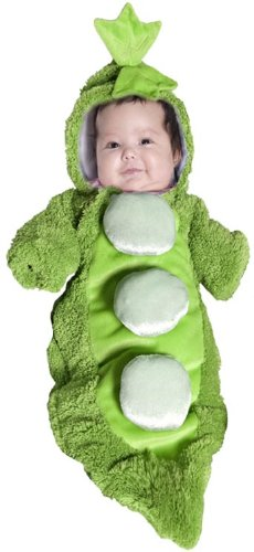 Pea In A Pod Costume Infant 0-6 Months