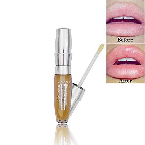 Leistungsstarke 1PC Volumizierend Lip Plumper Lippenstift All Natural Lip Serum langlebiges Moisturizer Sexy 3D Lip Plumper Extreme Gloss Lip Booster Enhancer für Mädchen Frauen -