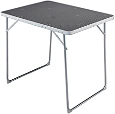 Quechua Folding Camping/Trekking Table 4 Persons - Grey