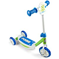 Funbee - Patinete 3 ruedas, azul, (Darpeje OFUN13-G)