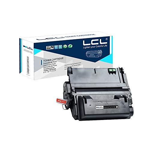 LCL 42A 42X Q5942A Q5942X Q1339A Q5945A 20000Seiten (1Stück Schwarz) Toner kompatibel für HP Laserjet 4200 4300 4250 4350 4345 Series Nicht für Laserjet 4240 (Laserjet Hp Toner 4200)