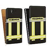 DeinDesign Sony Xperia Z Tasche Hülle Flip Case Feuerwehr Feuerwehrmann Firefighter