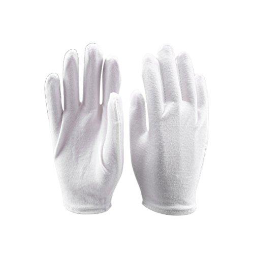 FRCOLOR 6 Paar Hand feuchtigkeitsspendende Handschuhe kosmetische Hand Spa Handschuhe für feuchtigkeitsspendende weiß