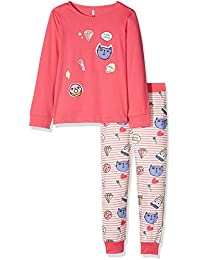 Lina Pink Bf.Patch.Pl.Mz, Ensemble de Pyjama Fille