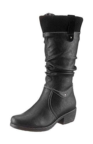 hush-puppies-botas-de-cuero-sintetico-para-mujer-negro-negro-color-negro-talla-36-eu