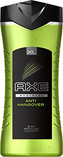 Axe 2 in 1 Duschgel & Shampoo Anti Hangover XL, 6er Pack (6 x 400 ml)