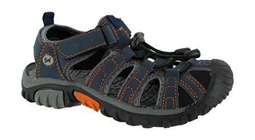 Surf Textile Lined Mens Sandals - Blue - Size 35 36 37 38 39 40 Blue