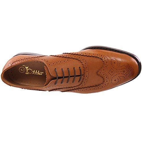 Unze Cuir espagnol Chaussures à lacets habillées Hommes de Florman ' Brun