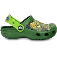 Crocs Kids Unisex Teenage Mutant Hero Turtles Clogs Green TMHT