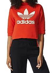 adidas BK5920 Sudadera, Mujer, Rojo (Rojbas), 36