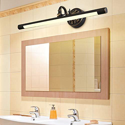 GCCI Spiegel Spiegel Bad- Lampen LED Lampe integriert Modern/Traditionell/Zeitgenössisch Klassisch/Rustikal Lodge Vintage Antik Messing haben zu warmem Licht geführt - Spiegel der Scheinwerfer - Lodge-tür