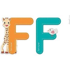 JANOD Letra Serie Sophie la Girafe (Madera) - f (j09550), 1