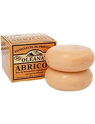 Oléanat Duo Savonnettes Abricot Bio 100 g