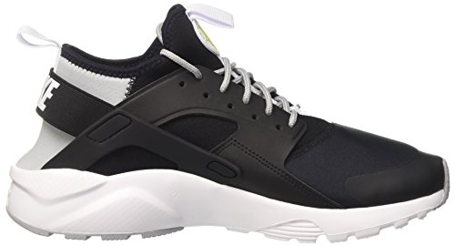 Nike Herren Air Huarache Run Ultra Gymnastikschuhe Schwarz (Black/white-wolf Grey-bright Cactus-white)