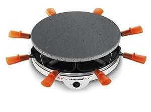Lagrange 129004 Raclette Grill'Pierre® 8 personnes 2 en 1 ( raclette/grill)