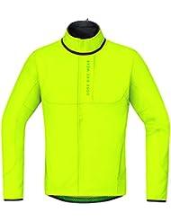 Gore Bike Wear Power Trail Windstopper Soft Shell Thermo - Chaqueta para hombre, color amarillo, talla M