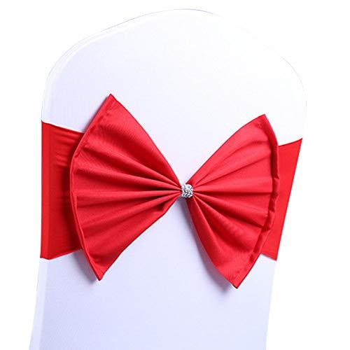 MoGist Silla Banda Elasticidad Grande Bow Knot Silla