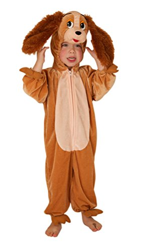 ,Karneval Klamotten' Kostüm Hund Lady Plüsch Junge Mädchen Karneval Tier Kinderkostüm Größe 128