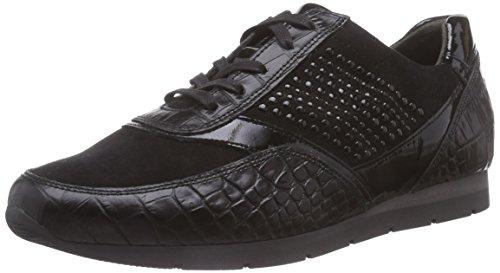 Gabor Comfort Fashion, Stivaletti a gamba lunga mod. Classics, imbottitura leggera donna Nero (Schwarz (schwarz (schwarz) 47))