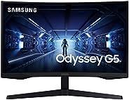 Samsung LC32G53TQWUXEN - Monitor curvo gaming 32'' WQHD (2560x1440, 16:9, 2500:1, 1000R, 144 Hz, 1 ms,
