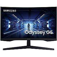 Samsung LC32G53TQWUXEN - Monitor curvo gaming 32'' WQHD (2560x1440, 16:9, 2500:1, 1000R, 144 Hz, 1 ms, 250 cd/m², HDR10, AMD FreeSync Premium) Negro