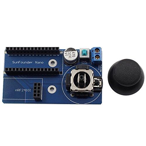 SunFounder Mobile Robot Remote Controller Fernsteuerung for Arduino Arduino Nano and NRF24L01 Nano Remote