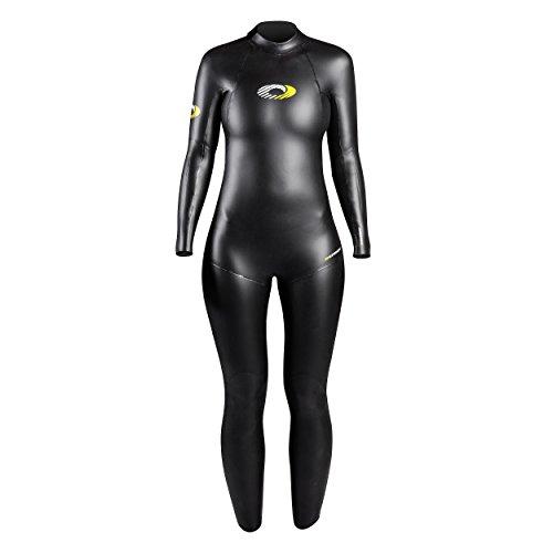 Osprey Damen Nylon Full Länge Triathlon Neoprenanzug, Schwarz, Medium