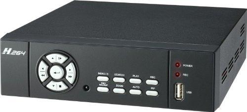 i5d-new 4CH 250GB H.264Sicherheit DVR/Fernbedienung/LAN/Audio/Smartphone und Internet betrachten Digital Video Recorder