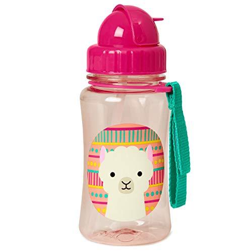 Skip Hop Zoo Straw Bottle, Lama