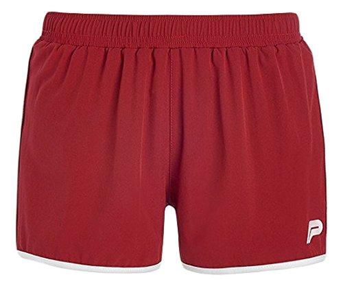 Pursue Fitness Damen Retro Running Shorts rot