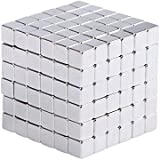 PROLOVEE Magnetic Cube Holders Multi-Use Square Cube Magnets Toy Puzzle Magnet Block Magic Cube Education Toys 5 5mm Each Cube (216 Pack)