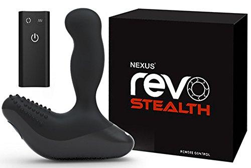 Revo Stealth - Prostatavibrator mit 6 Stufen und USB-Kabel - Anal Dildo 14,5 cm lang Schwarz Nexus