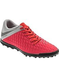 Nike Men s Hypervenom 3 Club TF LT Crimson MTLC Dark Grey Football Shoes  (AJ3811 eaf94ebe17dc7