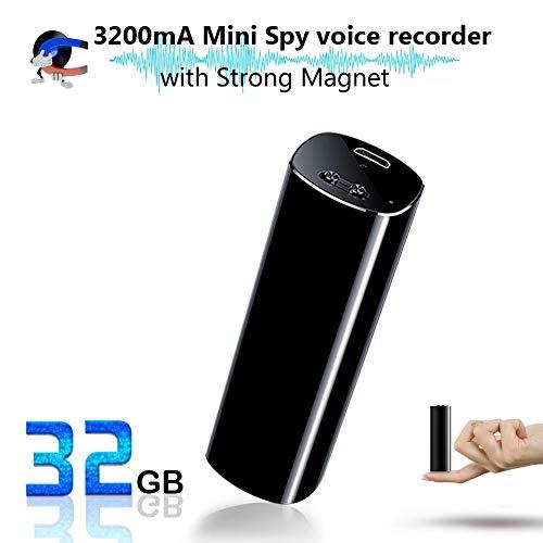 Mini Spionage Diktiergerät, Profesionelles Aufnahmegerät, 3200mA, 500